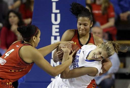 Elena Delle Donne, Malina Howard, Alyssa Thomas