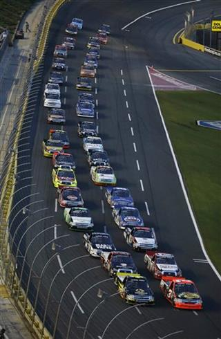 NASCAR Charlotte Trucks Auto Racing