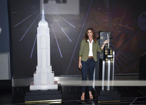 Cindy Crawford Lights the Empire State Building