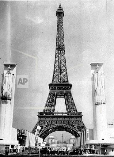Associated Press International News France PARIS EIFFEL TOWER