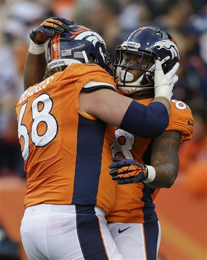 Zane Beadles, Demaryius Thomas