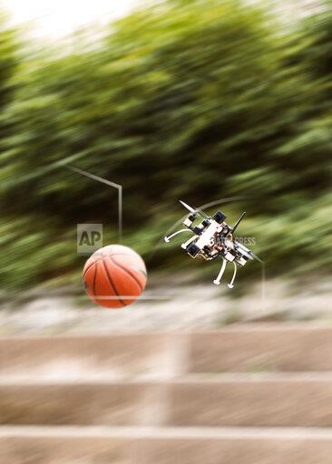This Drone Can Play Dodgeball – And Win