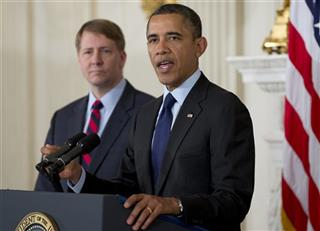 Barack Obama, Richard Cordray