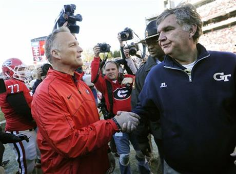Mark Richt, Paul Johnson