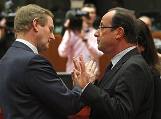 Francois Hollande, Enda Kenny