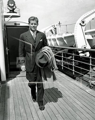 Associated Press Domestic News New York United States KENNEDY RETURNS FROM EUROPE