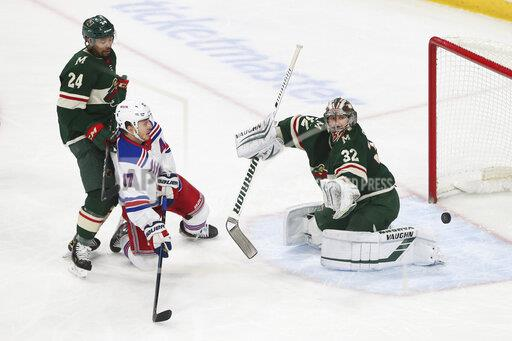 Rangers Wild Hockey
