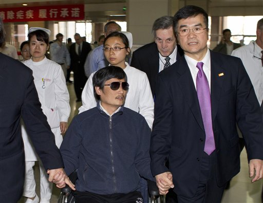Chen Guangcheng, Gary Locke