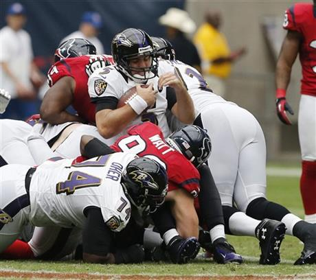 Joe Flacco, J.J. Watt