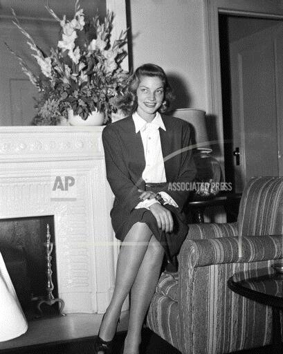 Watchf Associated Press Domestic News  New York United States APHS162253 Lauren Bacall