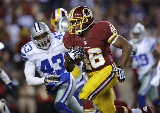 Alfred Morris, Gerald Sensabaugh