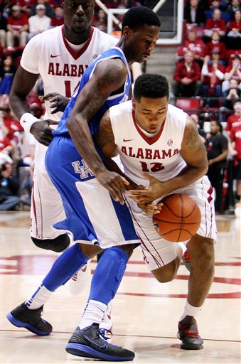 Kentucky Alabama Basketball