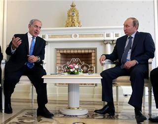 Vladimir Putin, Benjamin Netanyahu