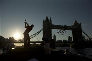 APTOPIX London Olympics Golf