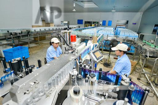 CHINA ZHEJIANG CHANGXING BOTTLED WATER PRODUCTION