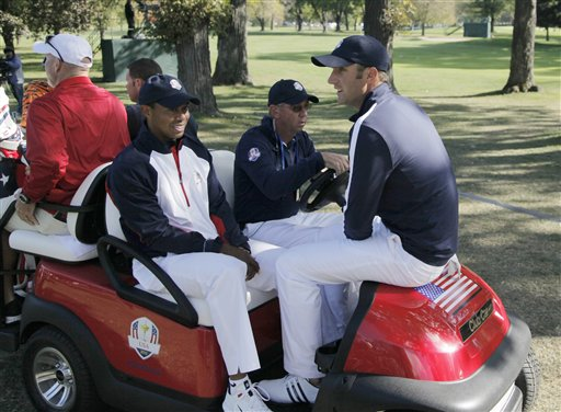 Tiger Woods, Dustin Johnson