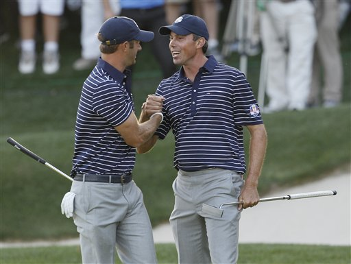 Matt Kuchar, Dustin Johnson