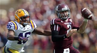 LSU Texas A M Football