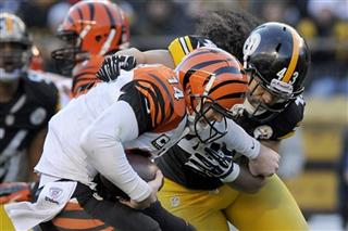 Troy Polamalu, Andy Dalton