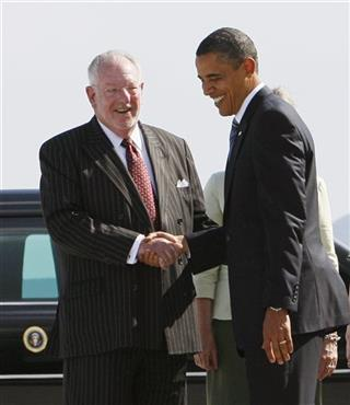 Barack Obama, Oscar Goodman