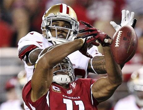 Chris Culliver, Larry Fitzgerald