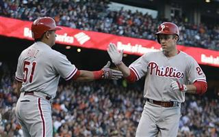 Chase Utley, Carlos Ruiz