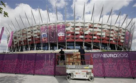 Poland Soccer Euro2012 Decorations