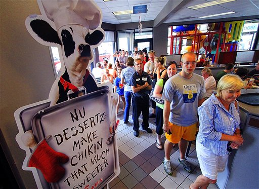 Chick fil A Gay Marriage