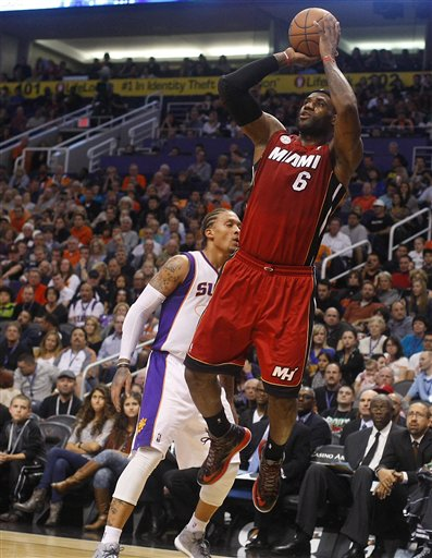 LeBron James, Michael Beasley