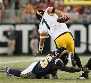 Steelers Rams Football