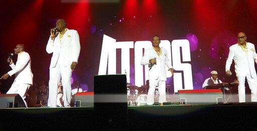 The Four Tops in concert - Rewind Festival, UK - 8/17/19