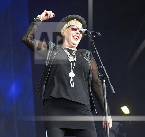Hazel O'Connor in concert - Rewind Festival, UK - 8/18/19