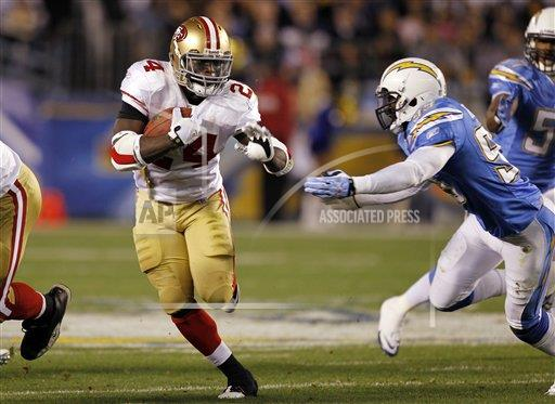 NFL AP S FBN CA USA PSCA01 49ers Chargers Football