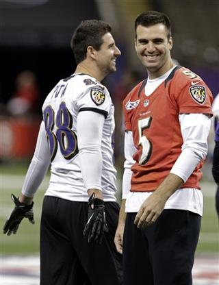 Joe Flacco, Dennis Pitta