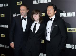 Andrew Lincoln, Chandler Riggs, Steven Yeun