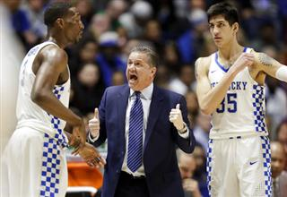 John Calipari, Edrice Adebayo, Derek Willis