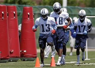 Kendall Wright, Kenny Britt, Damian Williams