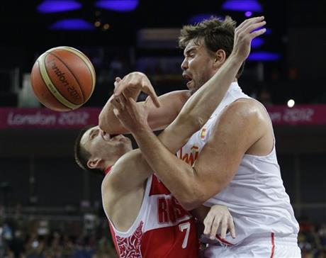 Marc Gasol, Vitaliy Fridzon