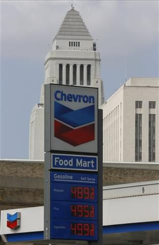 Earns Chevron