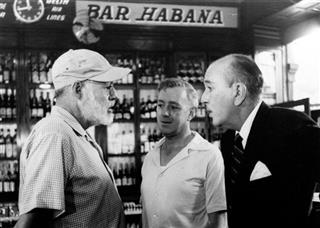 Ernest Hemingway, Alec Guinness, Noel Coward