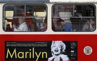 Czech Republic Marilyn Monroe Exhibition