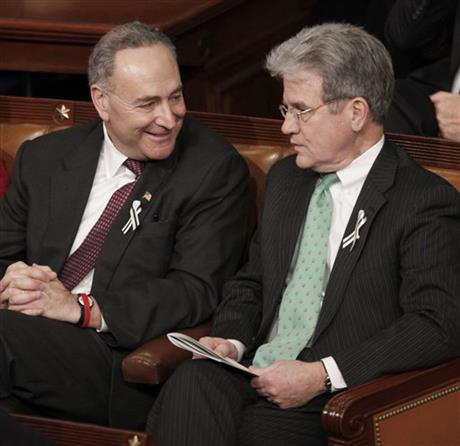 Charles Schumer, Tom Coburn
