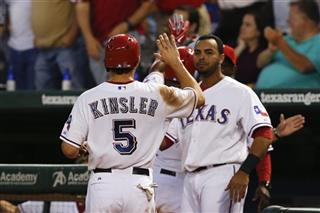 Ian Kinsler, Nelson Cruz