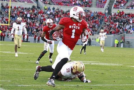 Boston College NC State Football