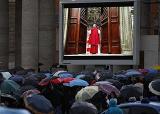 APTOPIX Vatican Pope