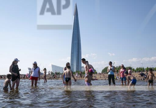 Russia Europe Heat Wave