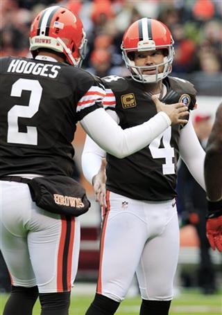 Phil Dawson, Reggie Hodges