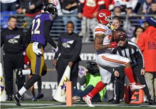 Charcandrick West, Jimmy Smith