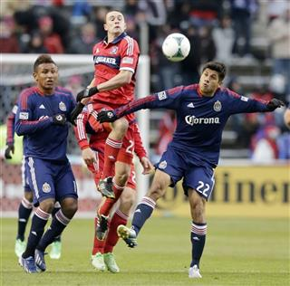 Austin Berry, Daniel Antunez, Juan Agudelo