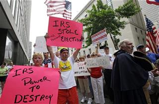 IRS Political Groups Rallies